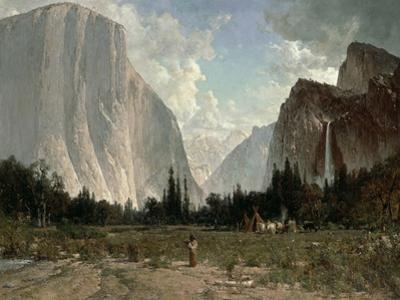 Bridal Veil Falls, Yosemite, C.1870-84