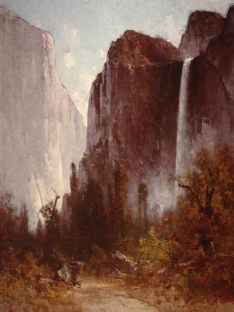 Bridalveil Falls by Thomas Hill