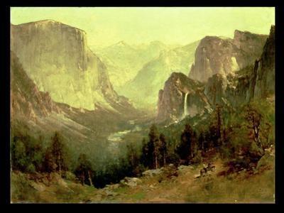 Hunting in Yosemite, 1890