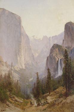 Yosemite Waterfall by Thomas Hill