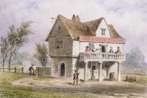 A View of the Old Dog and Duck, St. George's Fields by Thomas Hosmer Shepherd