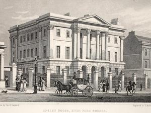 Apsley House by Thomas Hosmer Shepherd