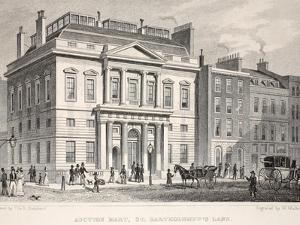 Auction Mart, St. Bartholomew's Lane by Thomas Hosmer Shepherd