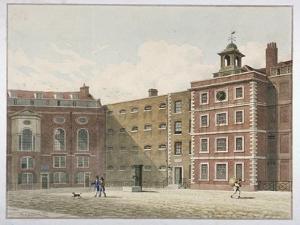 Bridewell, City of London, 1821 by Thomas Hosmer Shepherd