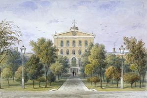 Bridewell Prison in Tothill Fields, Westminster, London, C1850 by Thomas Hosmer Shepherd