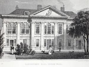 Carpenter's Hall by Thomas Hosmer Shepherd