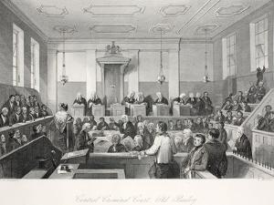 Central Criminal Court at the Old Bailey by Thomas Hosmer Shepherd