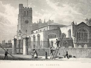 Church of St Mary by Thomas Hosmer Shepherd