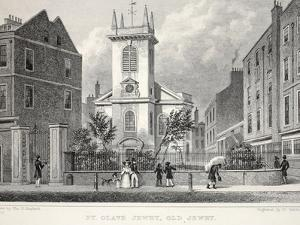 Church of St Olave Jewry by Thomas Hosmer Shepherd