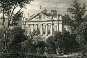 Earl Spencer's House, Green Park, 1829 by Thomas Hosmer Shepherd