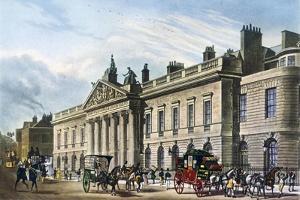 East India House, London, 1817 by Thomas Hosmer Shepherd