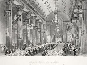 Egyptian Hall by Thomas Hosmer Shepherd