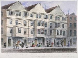 Fetter Lane, City of London, 1855 by Thomas Hosmer Shepherd