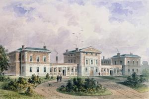 Fever Hospital, Liverpool Road, 1849 by Thomas Hosmer Shepherd