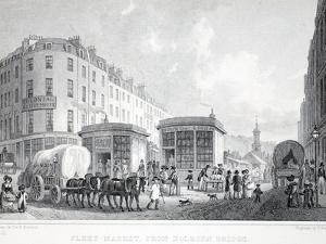 Fleet Street by Thomas Hosmer Shepherd