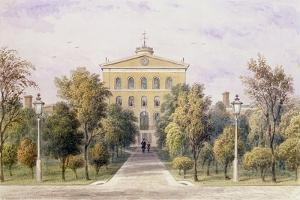 Governor's House, Tothill Fields New Prison, 1852 by Thomas Hosmer Shepherd