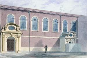 Haberdashers Hall, 1852 by Thomas Hosmer Shepherd
