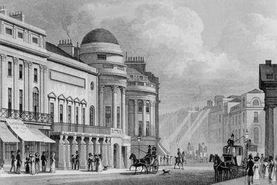 Harmonic Institution, Regent Street, from 'London and it's Environs in the Nineteenth Century'