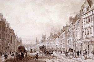 Holborn, London, C1830 by Thomas Hosmer Shepherd