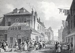Hungerford Market by Thomas Hosmer Shepherd