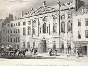 Ironmonger's Hall by Thomas Hosmer Shepherd