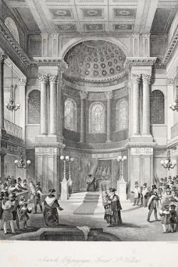 Jewish Synagogue by Thomas Hosmer Shepherd