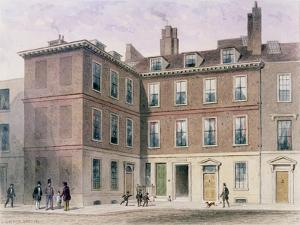Judge Jeffrey's House, 1853 by Thomas Hosmer Shepherd