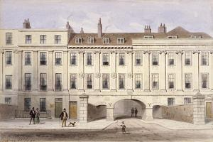 Lincoln's Inn Fields, Holborn, London, C1835 by Thomas Hosmer Shepherd