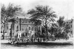 Mrs Montagu's House, Portman Square, London, 19th Century by Thomas Hosmer Shepherd