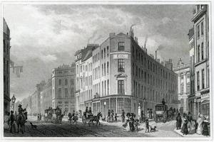 Piccadilly, from Coventry Street, 1830 by Thomas Hosmer Shepherd