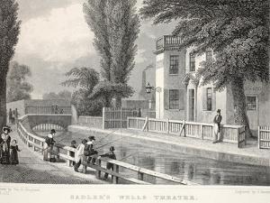 Sadler's Wells Theatre by Thomas Hosmer Shepherd