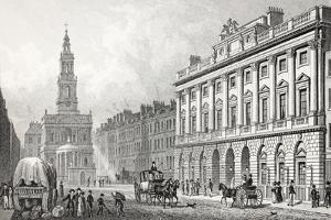 Somerset House by Thomas Hosmer Shepherd