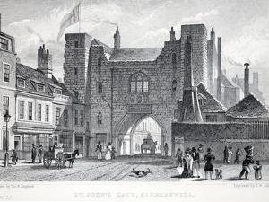 St Johns Gate by Thomas Hosmer Shepherd