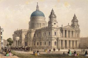 St. Paul's Cathedral from the North West by Thomas Hosmer Shepherd
