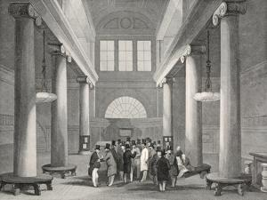Stock Exchange by Thomas Hosmer Shepherd