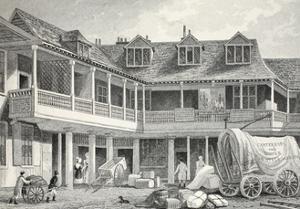 Talbot Inn by Thomas Hosmer Shepherd