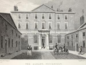 The Albany by Thomas Hosmer Shepherd