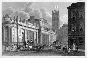 The Bank of England, C1830 by Thomas Hosmer Shepherd