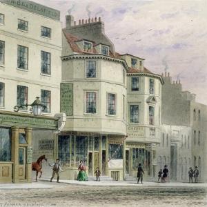 The Boars Head Inn, King Street, Westminster, 1858 by Thomas Hosmer Shepherd