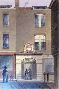 The Entrance to Bakers'Hall, 1855 by Thomas Hosmer Shepherd