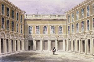 The Inner Court of Drapers' Hall, 1854 by Thomas Hosmer Shepherd