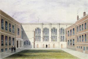 The Inner Court of Merchant Taylors' Hall, 1853 by Thomas Hosmer Shepherd