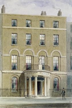The Liverian Museum, 1850 by Thomas Hosmer Shepherd