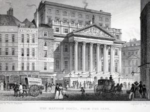 The Mansion House by Thomas Hosmer Shepherd