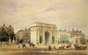The Marble Arch by Thomas Hosmer Shepherd