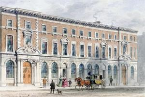 The New Building of Merchant Taylors and Hall, 1853 by Thomas Hosmer Shepherd