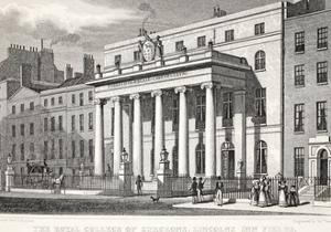 The Royal College of Surgeons by Thomas Hosmer Shepherd