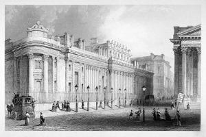 The South Front of the Bank of England, City of London, C1830 by Thomas Hosmer Shepherd