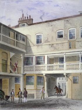 The Three Kings Inn on Piccadilly, Westminster, London, 1856 by Thomas Hosmer Shepherd