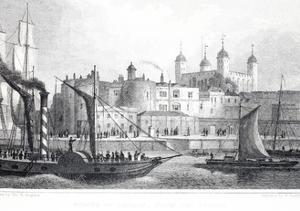 The Tower of London by Thomas Hosmer Shepherd